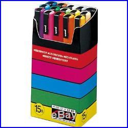 Uni-posca PC-3M Paint Marker Pen Fine Point Set of 15