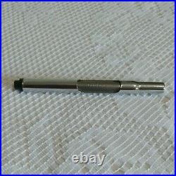 Vintage Aurora Hastil Black Matte Fountain Pen 14K Gold Tip With Case Fine Point
