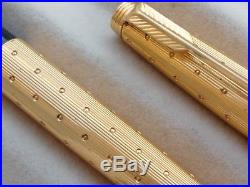 Vintage parker 75 perle fountain pen fine point made in FRANCE
