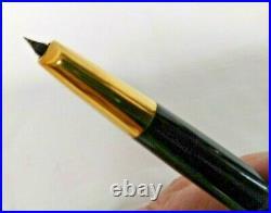 Vtg. PILOT Vanishing Point Capless Retractable Fountain Pen with Fine 14K Gold Nib