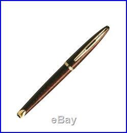 Waterman Carene Amber Shimmer Fountain Pen, Fine Point, 18k Nib (S0700860)