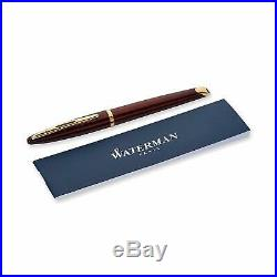 Waterman Carene Amber Shimmer Fountain Pen, Fine Point (S0700860) 18K gold nib