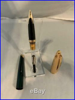 Waterman Carene Fountain Pen Fine Point 18k Gold Nib