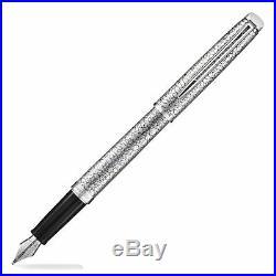 Waterman Hemisphere Fountain Pen Deluxe Cracked Fine Point NEW in box 2042