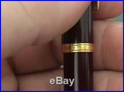 Waterman Preface Brown Marble GT Fountain Pen Fine Point 18K Gold Nib