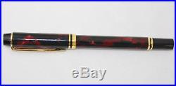 Waterman Rhapsody Mineral Red Fountain Pen Fine Point In Original Box