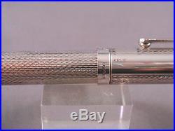 Yafa Vintage Sterling Silver Combo ball pen/fountain pen-fine point